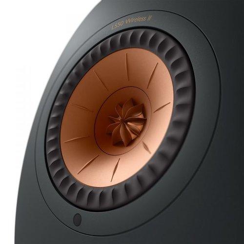 KEF Tweedekans: Kef LS50 Wireless 2 Boekenplank speaker Carbon Black (per paar)