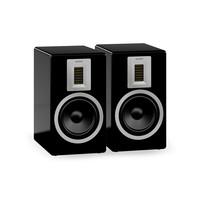 Tweedekans: Orchestra boekenplank speakers (per paar) - zwart