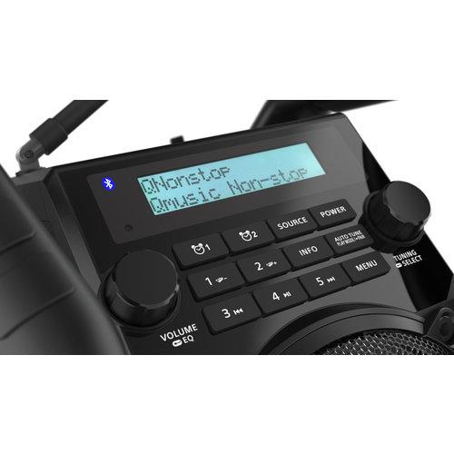Perfectpro Perfectpro UBOX 500R oplaad batterijen - Bouwradio - Dab+ - Draadloze Speaker