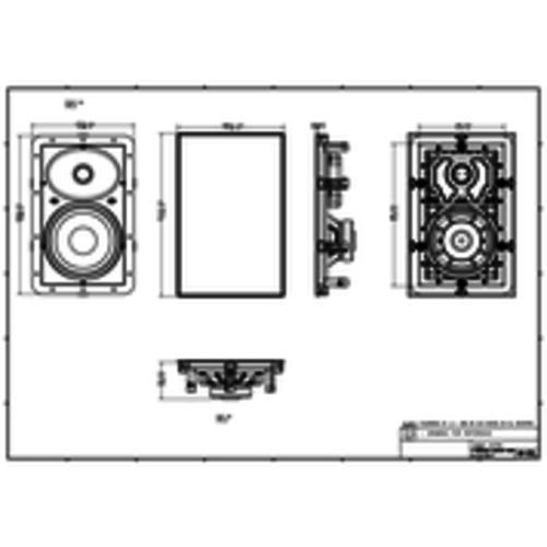 Monitor Audio Monitor Audio W180 inbouw speaker
