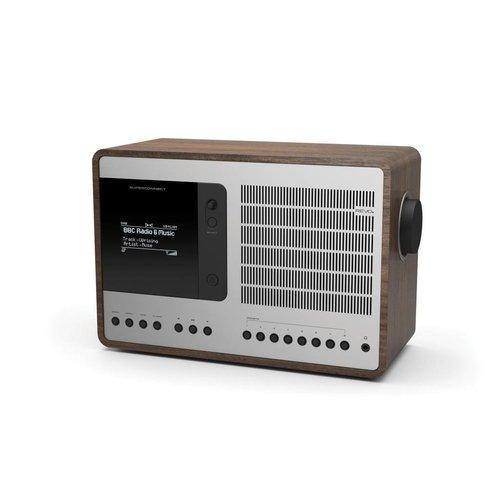 Revo Revo SuperConnect - DAB+ - internet radio en Spotify Walnoot/Zilver