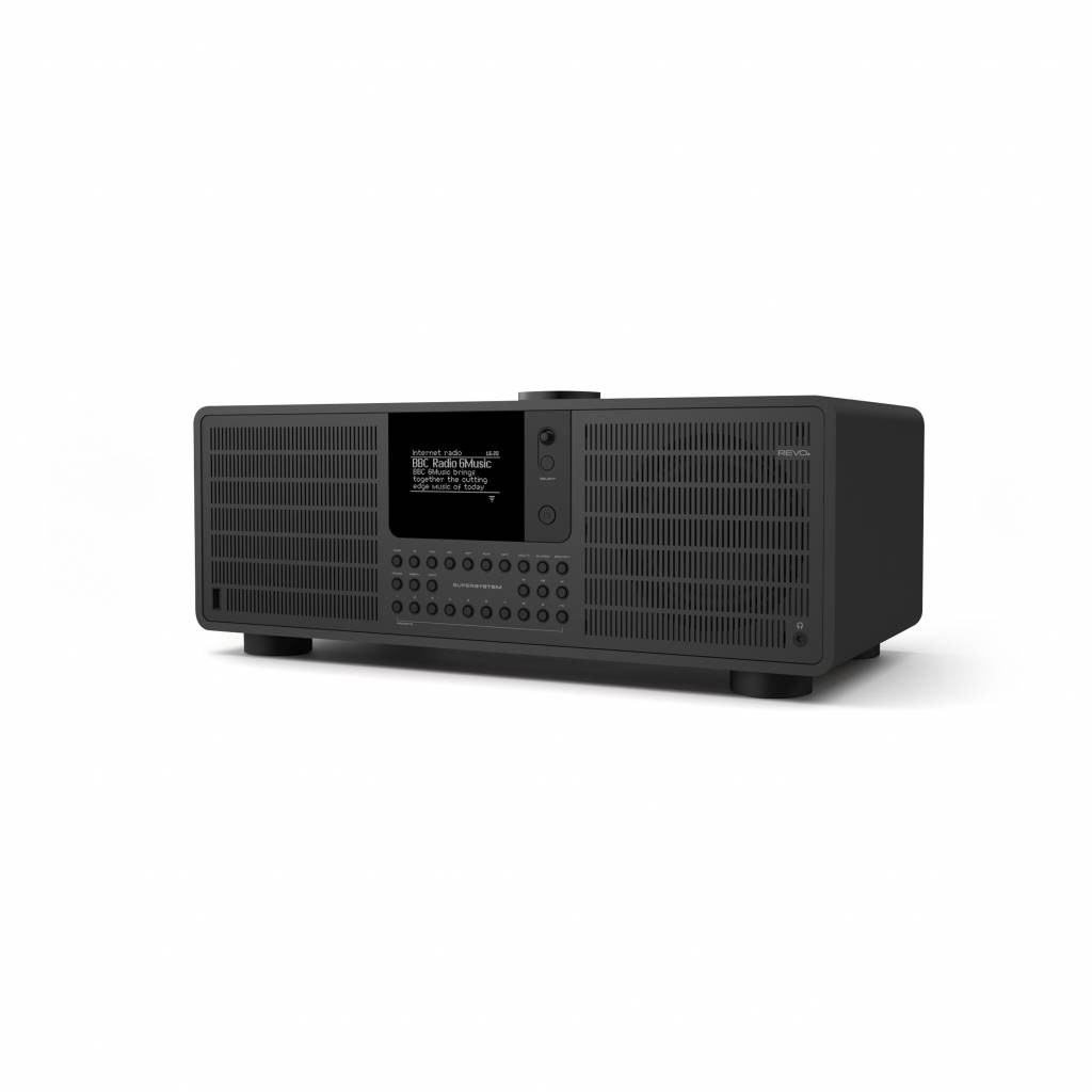 Revo SuperSystem Stereo - internetradio met Bluetooth