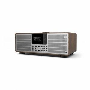 Revo SuperSystem - Internetradio met Bluetooth - Walnoot/Zilver