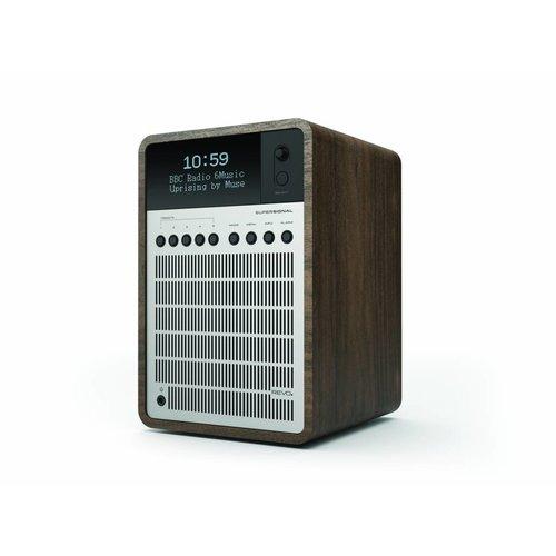 Revo SuperSignal - DAB+ Radio - Walnoot/Zilver