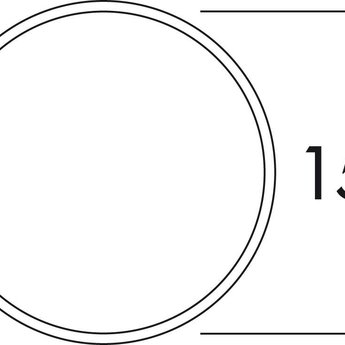 Buitenrooster dampkap Ø 150mm Luchtafvoer Licht grijs/Antraciet zonder terugslagklep