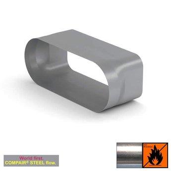 Naber Bora Adapter Compair Steel, kookplaat afzuiging