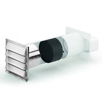 Compair Flow Muurdoorvoer E Jal flow Ø150mm incl.Thermobox Terugslagklep