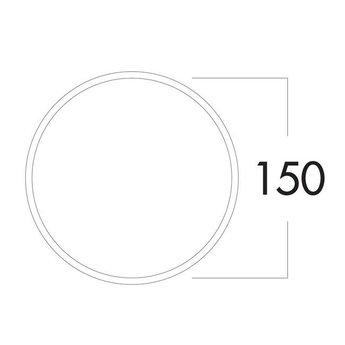 Afzuigkap Muurdoorvoer SF-E-Jal Col 150mm Compair Steel