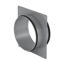 Afzuigkap Muurdoorvoer Compair Steel flow