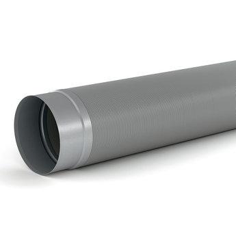 Flexibele Ronde buis afzuigkap SR-R flex Ø 150mm Compair Steel flow 1000mm