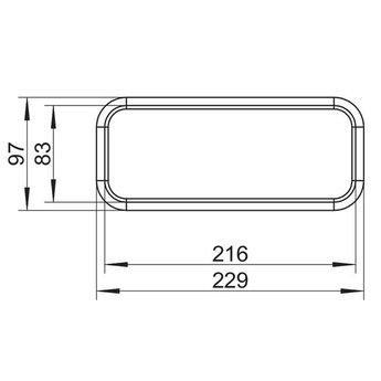 Afzuigkap Buisbochtverbinding Compair Steel flow SF