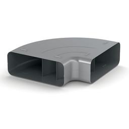 Afvoer afzuigkap horizontale bocht Compair Steel