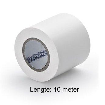 PVC plakband wit Voor veilige verbinding van slangen met systeemdelen