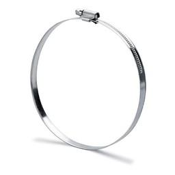 flexibele slang afzuigkap 127mm Slangklem. aluminiumkleurig