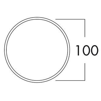 Naber Compair Top Luchtafvoer E-Jal 100 Buitenjaloezie. RVS