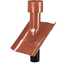 Dakdoorvoer voor dampkap 125mm Rood