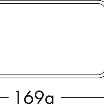 Compair Flow Afvoer dampkap platte buis Ø125mm, wit