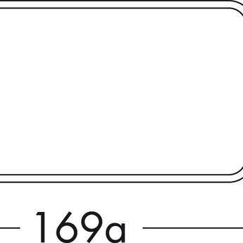 Compair Flow Platte dampkapbuis Ø125mm zonder mof