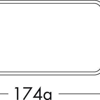 Compair Flow Afvoerbuis dampkap rechthoekig Ø125mm met mof, wit