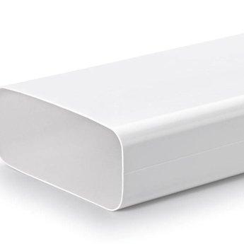 Compair Flow Set Afvoer afzuigkap Hoog rendement luchtafvoer buis Ø 150mm Vlakke buis