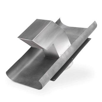 Dakventilatie Luchtafvoer Compair flow Ø 150 mm , roestvrij staal