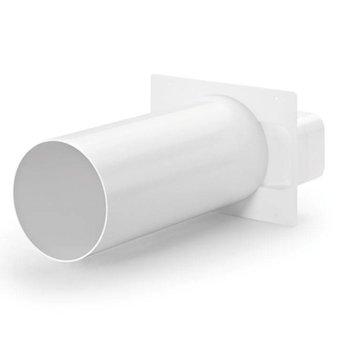 Naber Muuraansluiting Luchtafvoer Compair Flow Ø 150 mm wit