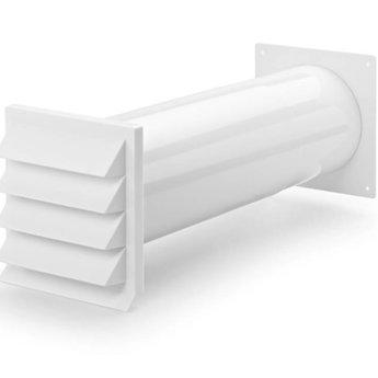 Muurdoorvoer Ø150mm K-Klima-R Wit