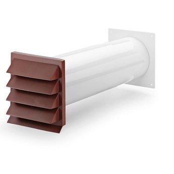 Muurdoorvoer Ø150mm K-Klima-R Baksteenrood