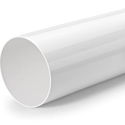 Ronde PVC Luchtafvoerbuis wit R-1000 Systeem Ø150 Lengte 100cm