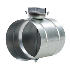 Regelklep ø250mm + koppelstuk