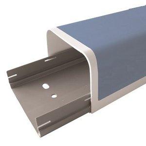 Canalplast 90A leidinggoot 2m (90x70mm)