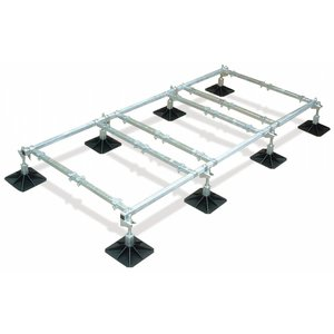 Big Foot Frame 3,5x1,2m - 8 voeten, 6 crossbars