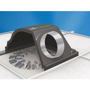 IsoPlenum 600/200mm + wervelrooster SDB-600
