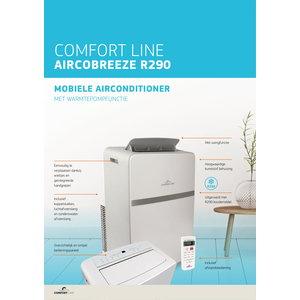 Mobiele airco Comfort line Aircobreeze R290. Nieuw model 2020