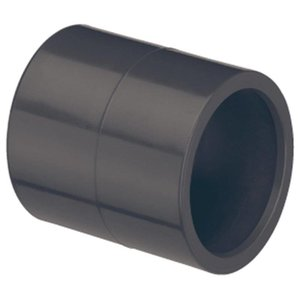 PVC lijmmof 2x20mm