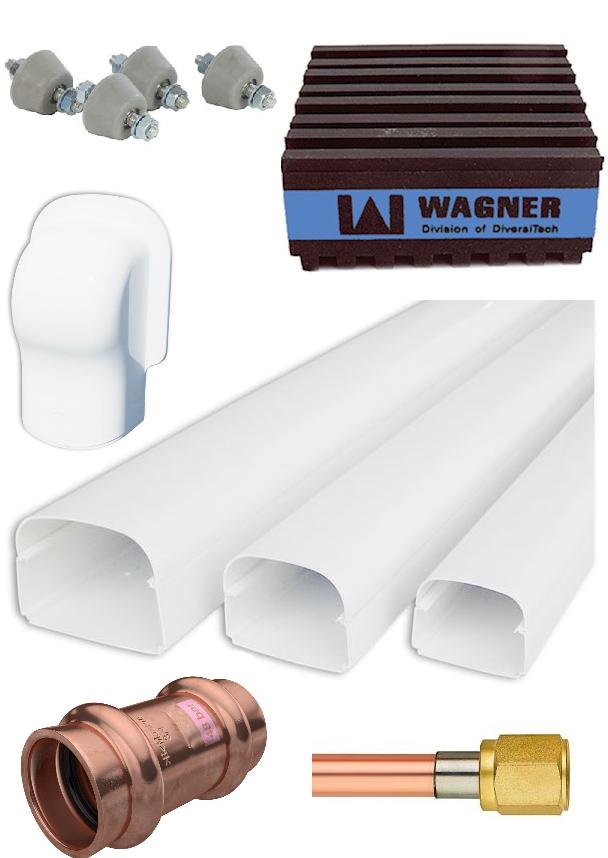 Hoogwaardige installatie materialen