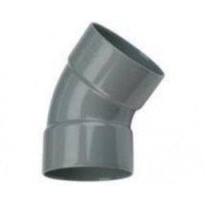 PVC bocht 45° 40mm