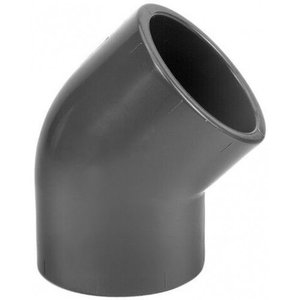 PVC knie 45° 32mm