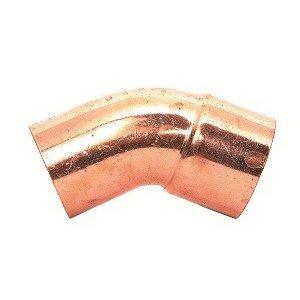 Mueller soldeerbocht 45° 2x1/2 uxi