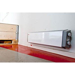Frico Thermowarm TWT21031 - afgedekt front, met schakelaar, 60 °C - 1000W, 400 volt