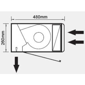 Frico LSA Effect GXX2500P 40-60
