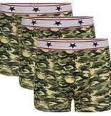 Underwunder Boys boxer camouflage (set of 3)