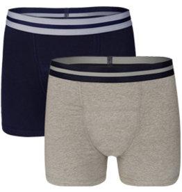 Underwunder Men Boxer Blue/ Grey (set of 2)