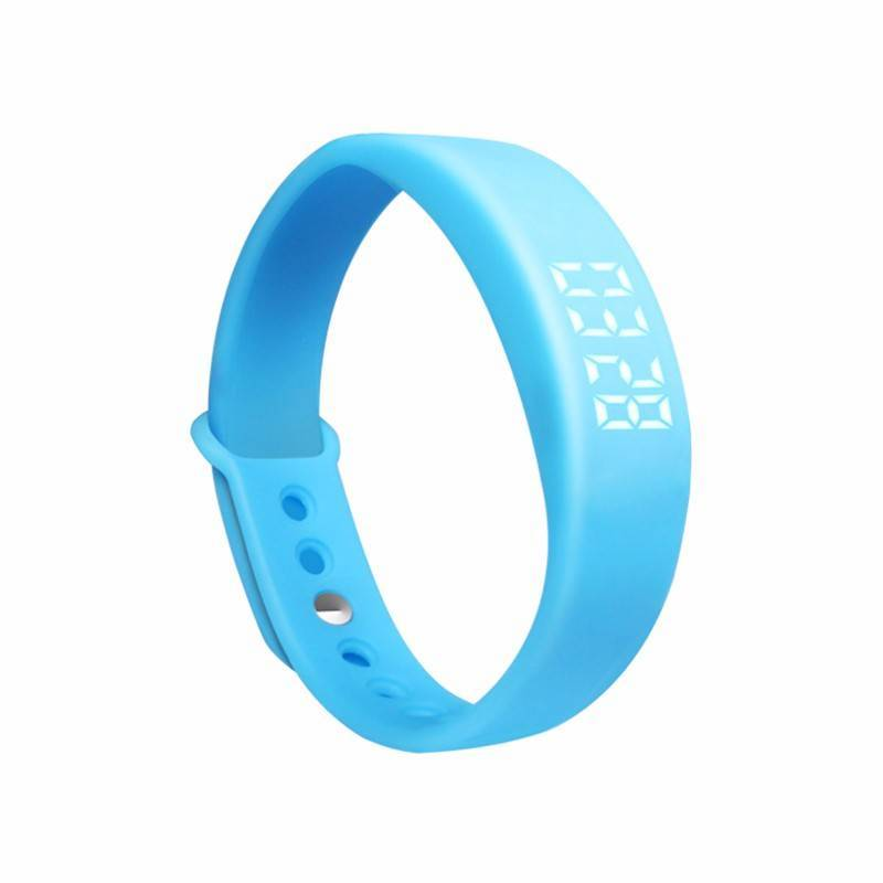 Plashorloge / Medicijnhorloge U7 blauw met 7 alarmmomenten