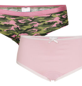 Underwunder Girls briefs pink and hearts print (set of 2) - Copy - Copy - Copy
