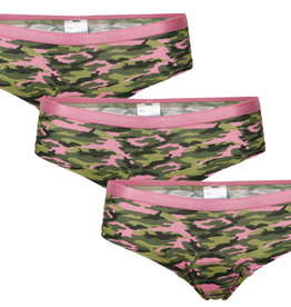 Underwunder Meisjes set, camouflage (set van 3)