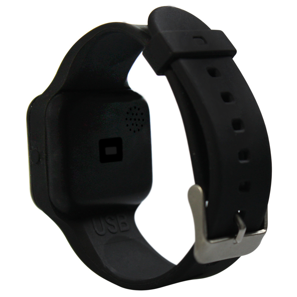 Plashwatch / Medicine watch R16 black with 16 alarm times especially for children