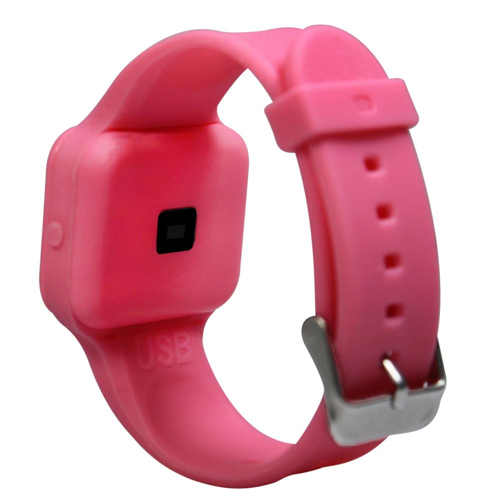 Plashorloge / Medicijnhorloge R16 roze met 16 alarmmomenten speciaal voor kinderen