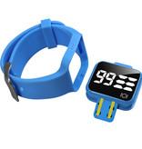 Plashorloge / Medicijnhorloge R16 blauw met 16 alarmmomenten speciaal voor kinderen