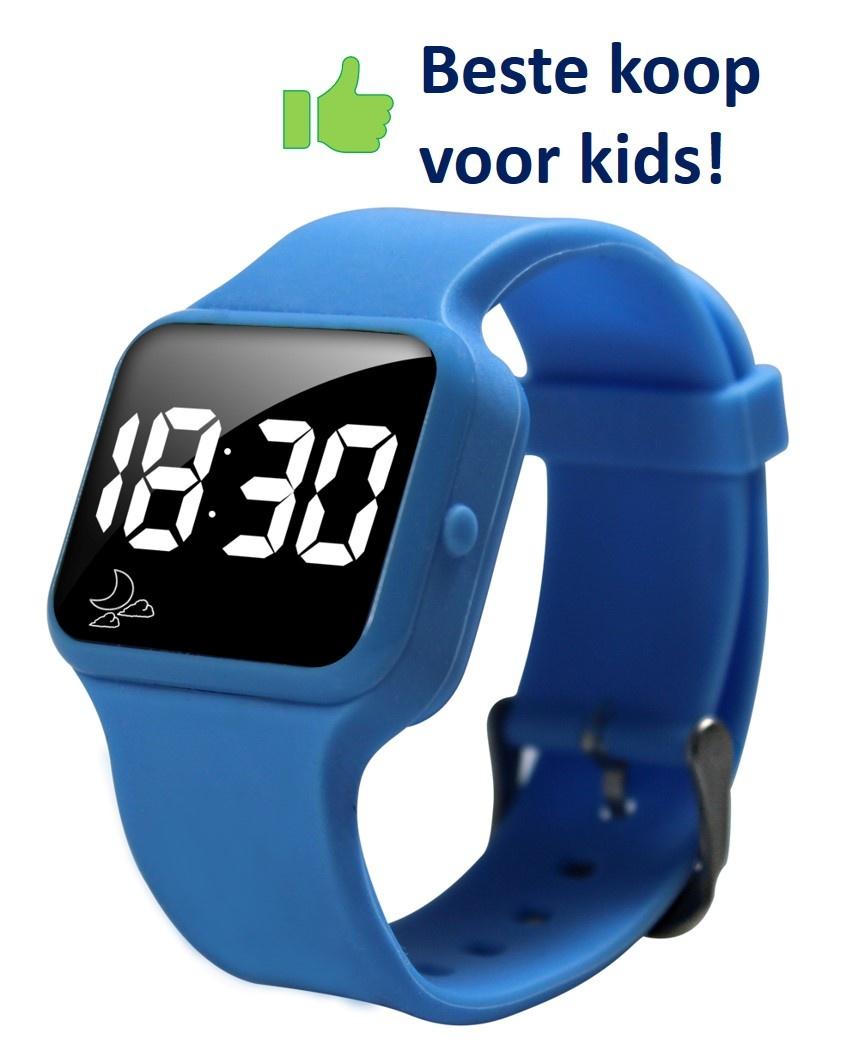 Voordeel zindelijkheidpakket jongens boxer blauw, R16 horloge en Juf Sas